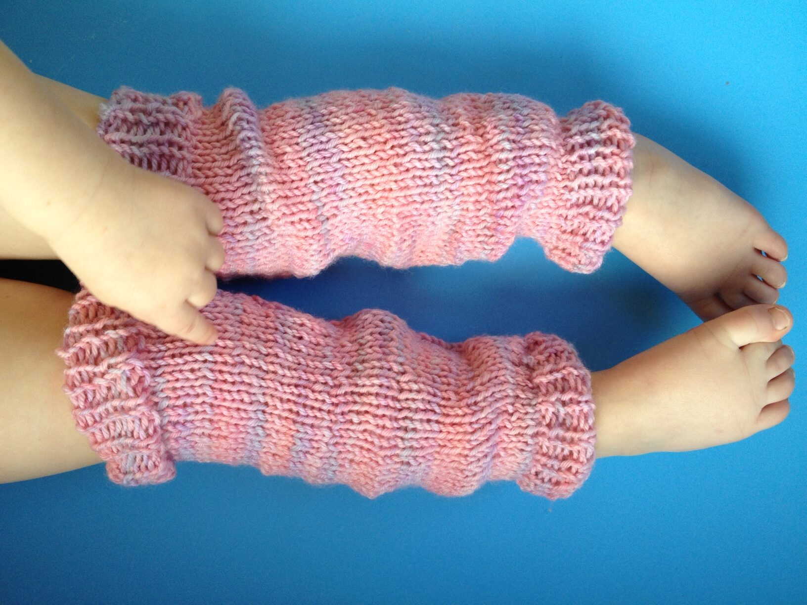 how to make leg warmers from socks